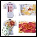 Camisas Du Futebol (10 Fabregas) Espanha Autêntico Ii Euro 2016 Masculina