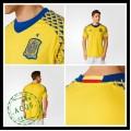 Camisetas Espanha Autêntico Ii Euro 2016 Goleiro