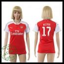 Arsenal Camisas Du Futebol Alexis 2015-2016 I Feminina