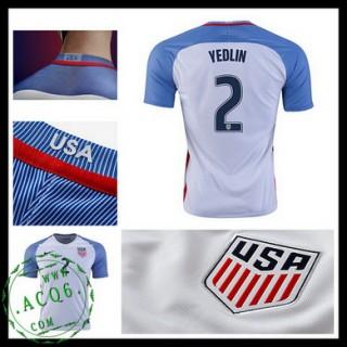 Camisa Futebol Eua Yedlin 2016 2017 I Masculina