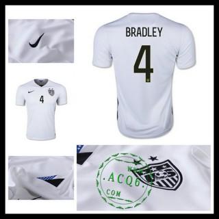 Camisas De Futebol Estados Unidos (4 Bradley) 2015/2016 I Masculina