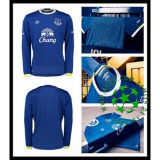 Camisa Futebol Everton Manga Longa 2016/2017 I Masculina