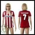 Atlético Madrid Camisa Futebol Griezmann 2015-2016 I Feminina