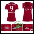 Desenho De Camisas De Futebol Lewandowski Bayern De Munique Feminina 2016 2017 I Online Store