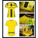 Uniforme Futebol Borussia Dortmund 2016 2017 I Feminina