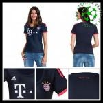Camisas De Futebol Bayern München 2015-2016 Iii Feminina