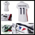 Camisas Futebol (11 Griezmann) França Autêntico Ii Euro 2016 Feminina