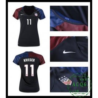 Um Rebanho Camisas Du Futebol Krieger Usa Feminina 2016/2017 Ii Loja On-Line