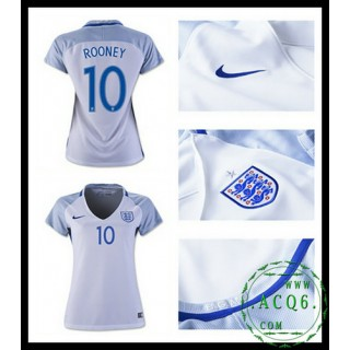 Comprou Camisas Futebol Rooney Inglaterra Feminina Euro 2016/2017 I Mais Barato Online