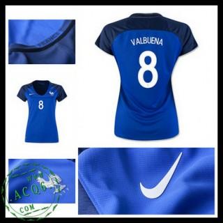 Camisas De Futebol França Valbuena Euro 2016/2017 I Feminina