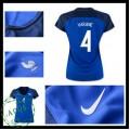 Camisetas França Varane Euro 2016/2017 I Feminina