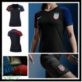 Camisas Futebol Eua 2016 2017 Ii Feminina