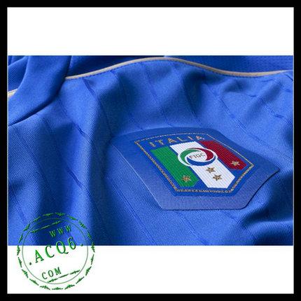 99191a6abe735 Camisa De Futebol (16 De Rossi) Itália Autêntico I Manga Longa Euro ...