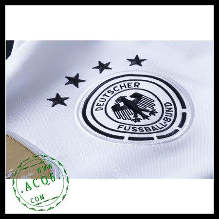Camisa De Futebol (8 Ozil) Alemanha Autêntico I Manga Longa Euro ... 26d9b894d1c6c
