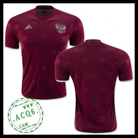 Camisa De Futebol Rússia Autêntico I Euro 2016 Masculina - camisolas ... e947924ed54d5