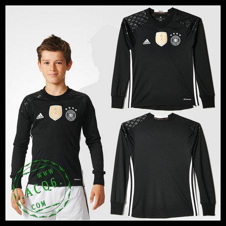 39d6d2f1cc Camisa Futebol Alemanha Autêntico I Manga Longa Goleiro Euro 2016 ...