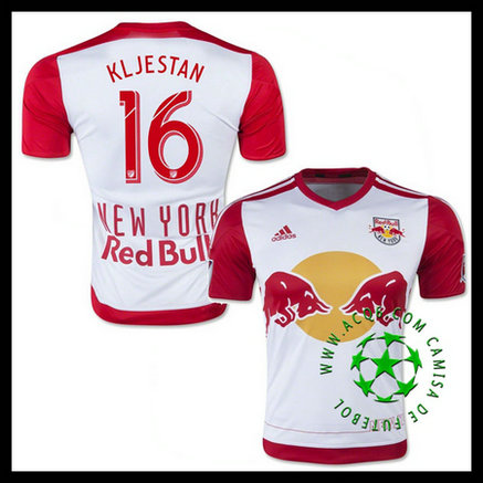 Camisa Futebol New York Red Bulls (16 KLJESTAN) 2015/2016 I MASCULINA