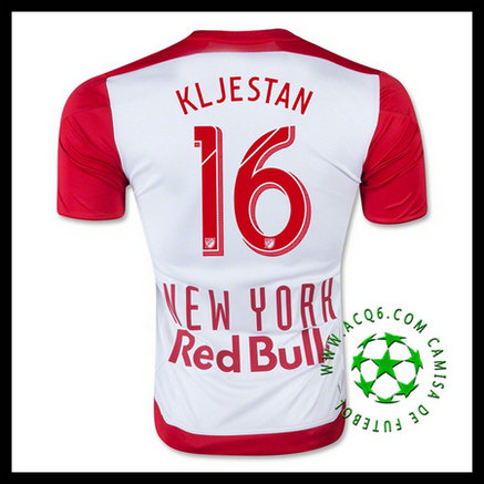 New York Red Bulls Camisa Futebol (16 KLJESTAN) 2015/2016 I MASCULINA