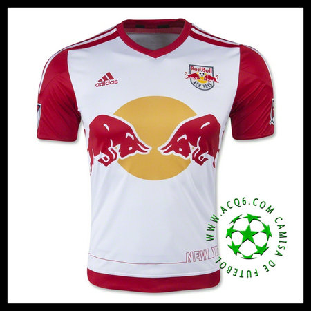 Camisa Futebol (16 KLJESTAN) New York Red Bulls MASCULINA 2015/2016 I