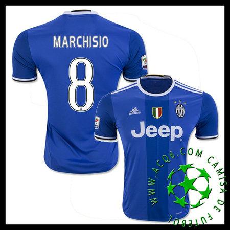 Camisa Du Futebol Juventus Marchisio 2016-2017 Ii Masculina ... 760500421f99c