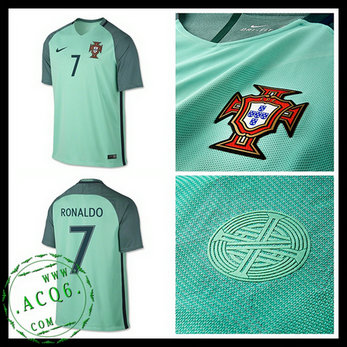 cf4f609924ff9 Camisa Portugal Ronaldo Euro 2016 2017 Ii Masculina - camisolas de ...