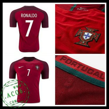 9083eae00977d Camisetas Portugal Ronaldo Euro 2016 2017 I Masculina - camisolas de ...
