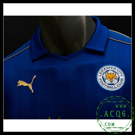 Camisas Leicester City MASCULINA 2016-2017 I