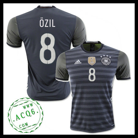 298155fba1 Camisas Futebol (8 Ozil) Alemanha Autêntico Ii Euro 2016 Masculina ...