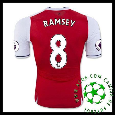 Framework Camisa De Futebol RAMSEY Arsenal MASCULINA 2016-2017 I Loja  On-Line fd0a013f10306