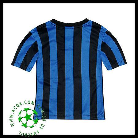 Camisa De Futebol (91 SHAQIRI) Inter de Milão Autêntico I 2015-2016 INFANTIL 9ee0e7c0358cd