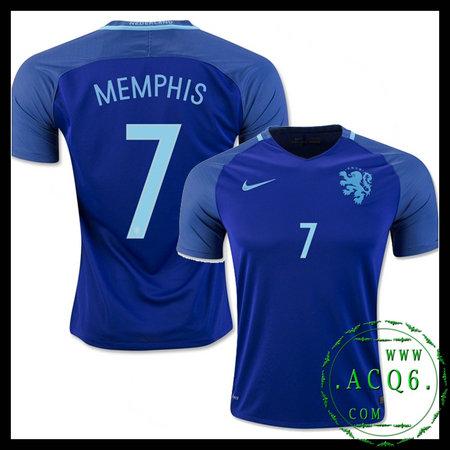 6b4ca68066b32 Comprar Uniforme De Futebol Memphis Holanda Masculina 2016-2017 Ii ...