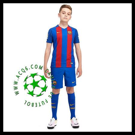 d3b58c5f8e De Vendas Uniformes Futebol Arda Barcelona Infantil 2016 2017 I On ...