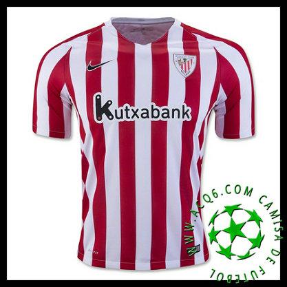 Ou Comprar De Uniforme Futebol Athletic Bilbao MASCULINA 2016 2017 I Loja  On-Line beb31ab9192c1