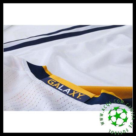 Jogos Camisas De Futebol Manga Longa Zardes La Galaxy Masculina 2016 ... 99c0d232eb417