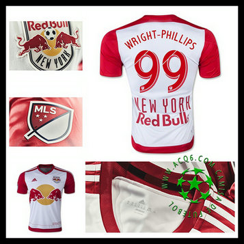 Camisa De Futebol I New York Red Bulls (99 WRIGHT PHILLIPS) 2015 2016