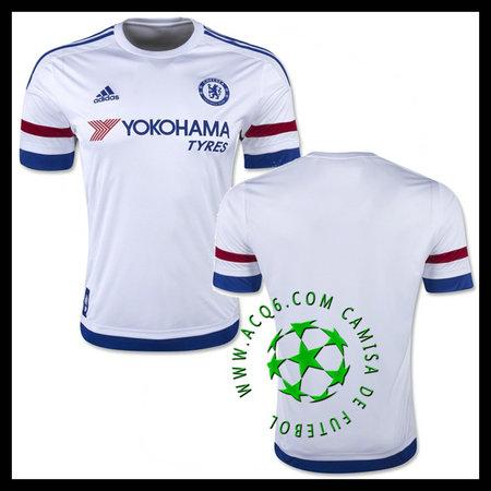 d15955b231 Camisas Du Futebol Chelsea 2015-2016 Ii Masculina - camisolas de ...