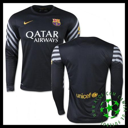 dc937d5f7ac03 Camisas Futebol Barcelona Manga Longa 2015 2016 I Goleiro ...