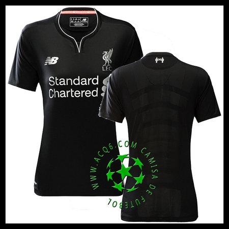8a735720b16ff Promo Uniformes Futebol Liverpool Feminina 2016-2017 Ii On-Line ...