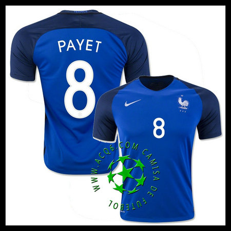 Comprar Camisa Futebol PAYET França MASCULINA 2016 2017 I Online Store 381eef1424828