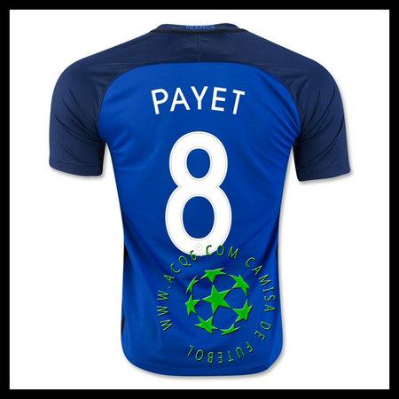 Comprar Camisa Futebol PAYET França MASCULINA 2016 2017 I Online Store b3f8dadeb52ce