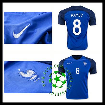 Comprar Camisa Futebol Payet França Masculina 2016 2017 I Online ... c6f36bea0be02
