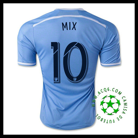 New York City FC Camisetas (10 MIX) 2015/2016 I MASCULINA