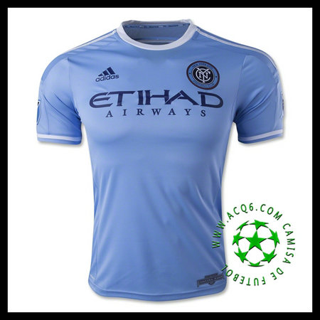 Camisetas (10 MIX) New York City FC MASCULINA 2015/2016 I