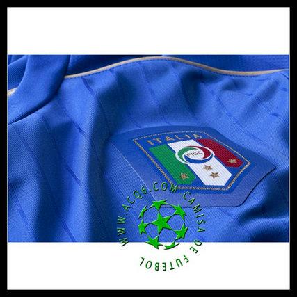 Uniformes Futebol Manga Longa EL SHAARAWY Itália MASCULINA 2016-2017 I 1ce7b8405d169