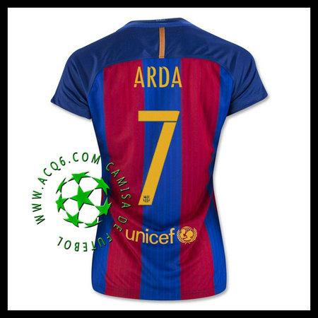 A Partir De Venda Camisas Futebol Arda Barcelona Feminina 2016-2017 ... ebe427115ae03