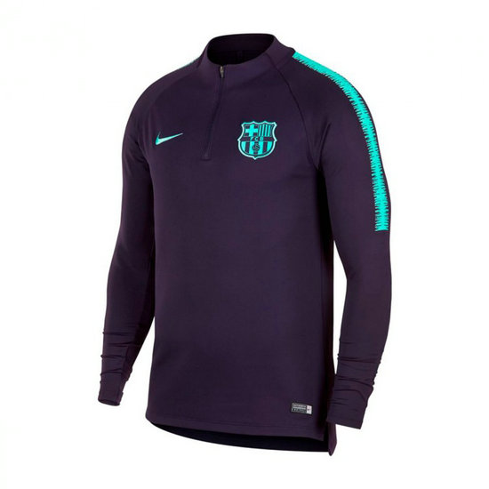 Sweatshirt Nike FC Barcelona Dry Squad 2018 2019 Roxa