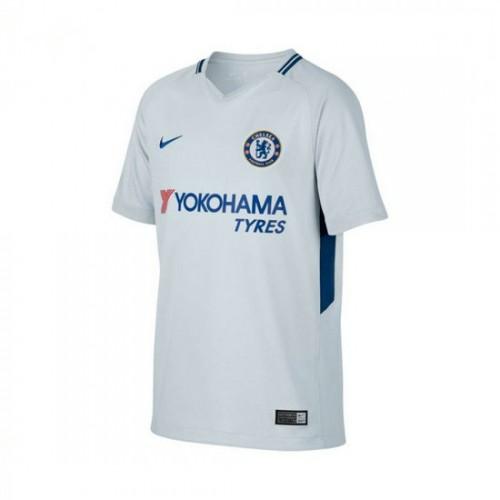 5118710311 Adquirir Camisola Nike Jr Chelsea FC Stadium SS Alternativo 2017-2018 Pure  platinum-Rush Azul
