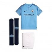 Autêntico Conjunto Nike Manchester City FC Equipamento Principal 2018-2019  Crianças Field Azul-Midnight d19489a767260