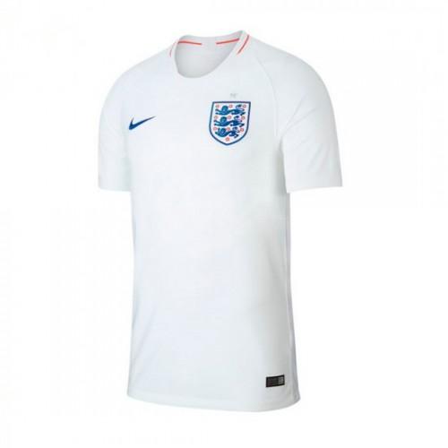 b073cf9bf2 Camisola Nike Inglaterra Breathe Stadium Equipamento Principal 2018-2019  Crianças Branco-Sport Royal Envio Rápido Foto Real