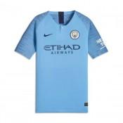 Camisola Nike Manchester City FC Vapor Equipamento Principal 2018-2019  Crianças Field Azul-Midnight ee8d6c3fe62dd